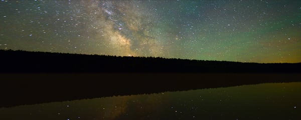 Lake Fanny Hooe and the Milky Way