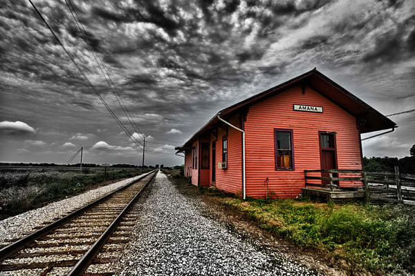 Amana Station No. I Photography Art | Robert Jones Photography