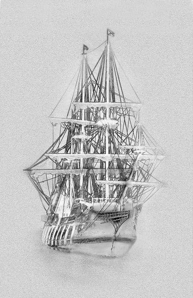 Ghost Ship Photography Art | Robert Jones Photography