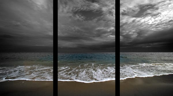 Low Tide   Trip Tych Photography Art | Robert Jones Photography