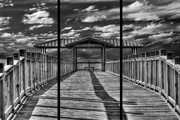 St. Mary's Pier   Trip Tych Photography Art | Robert Jones Photography