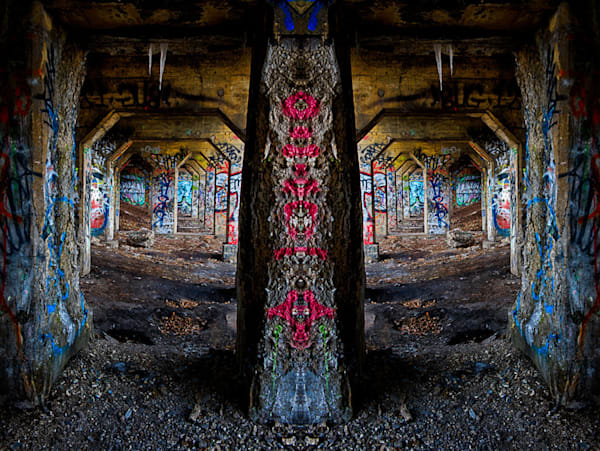 Graffiti Tunnels Fine Art Photograph | JustBob Images