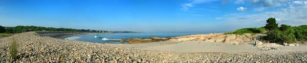 cape hedge beach rocks seascape rockport panorma