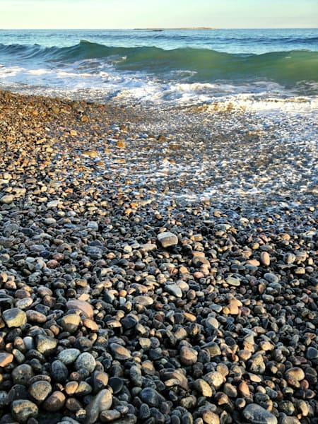 rocks wave cape hedge beach rockport
