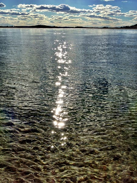 sun clouds reflections ocean seascape west gloucester