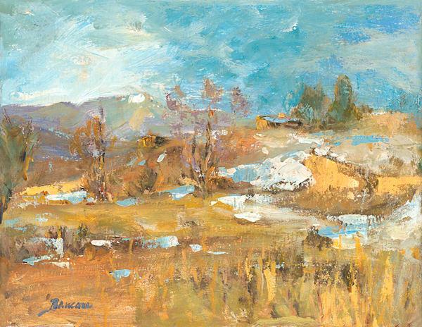 Early Snow El Prado, Margaret Baucom