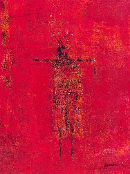 Warrior With Red Headdress, Margaret Baucom