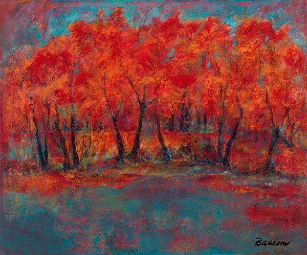 Red Trees, Margaret Baucom