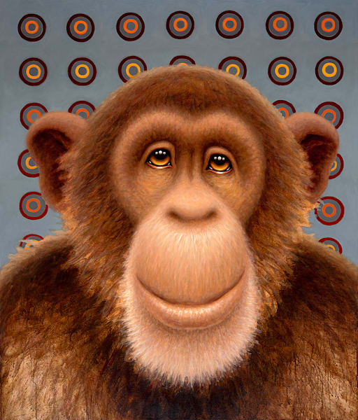 Psychedelic Chimp No. 3 Art | Fine Art New Mexico