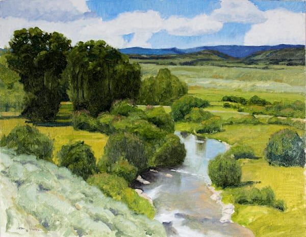 Trout Stream Art by fineart-new mexico