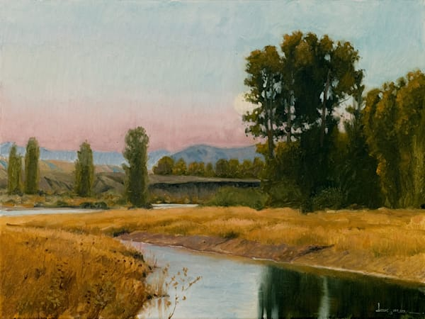 Evening On The Snake River Art | Fine Art New Mexico