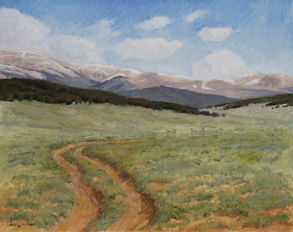 Old Trail To Tumble Creek Art | Fine Art New Mexico