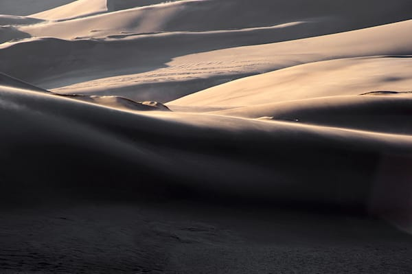 Great Sand Dunes Shadows 1
