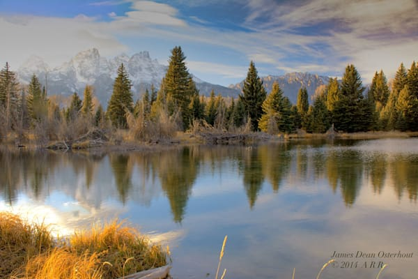 Grand Tetons, Mt. Owen, Schwabacher Landing