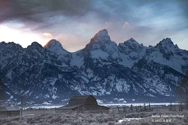 Moulton Barns,Grand Tetons