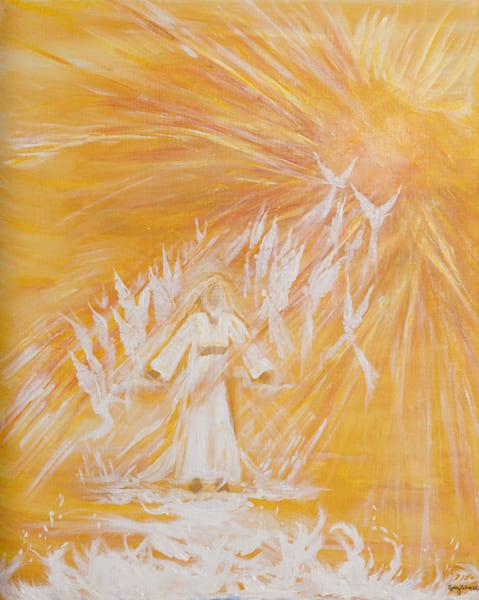 Original Acrylic painting by Nancy Schacht at Prophetics Gallery.