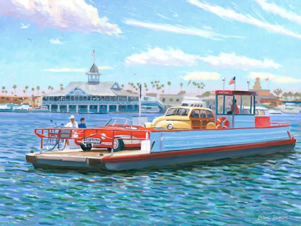 Balboa Island Ferry with Pavilion