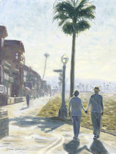 Strolling Balboa Penisula Boardwalk