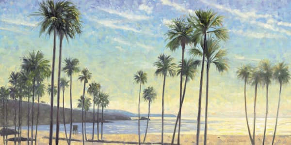 Palms on Corona del Mar Beach