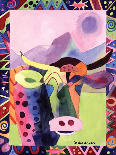 Funky Cow Medina | Southwest Art Gallery Tucson | Madaras
