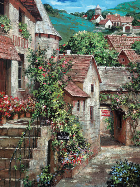 Italian Country Village I