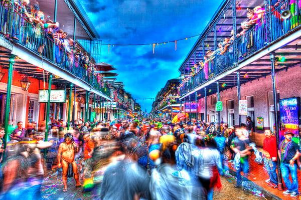 Mardi Gras New Orleans Carnival Night