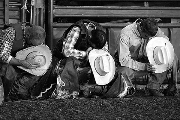 Praying Cowboys Photography Art | Robert Jones Photography