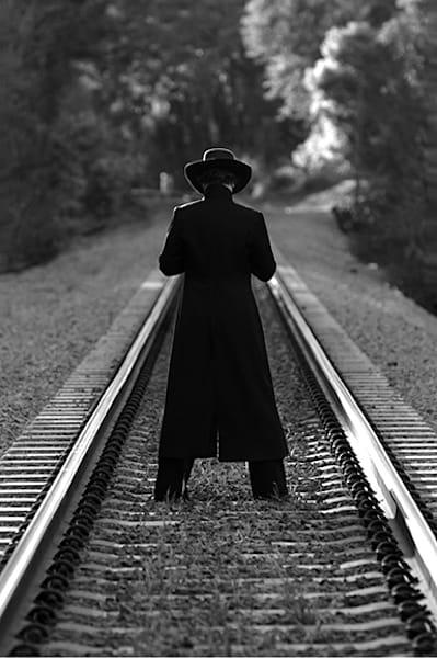 Guy On Tracks Photography Art | Robert Jones Photography