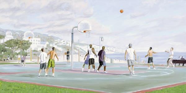 Main Beach Basketball Game