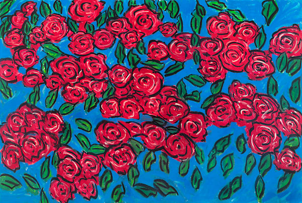 Red Roses Art | Fine Art New Mexico