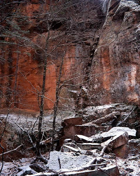 Winter Canyon Art | Fine Art New Mexico