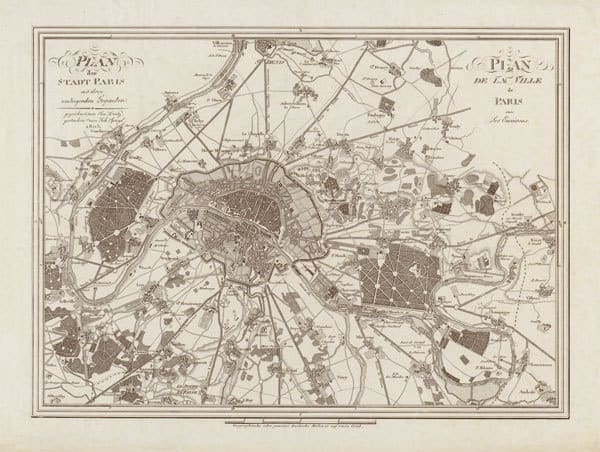 1805 Paris Map