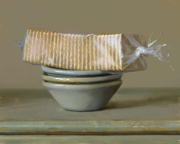 """Crackers on Bowls 10""""x8"""""""