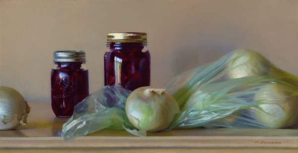 """Pickled Beets & Onions 24""""x12"""""""