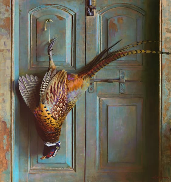 """Rooster Pheasant 30""""x32"""""""