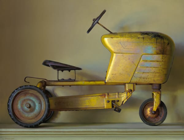 """Toy Tractor 32""""x42"""""""