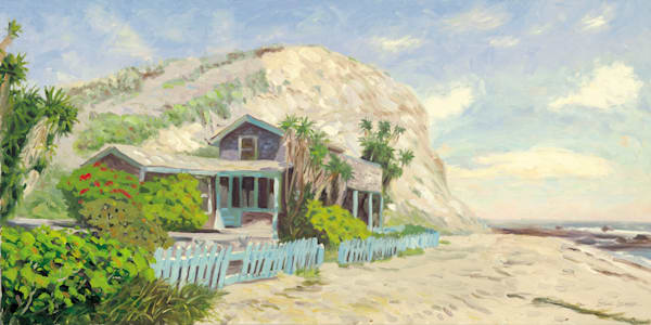Crystal Cove cottage from film Beaches