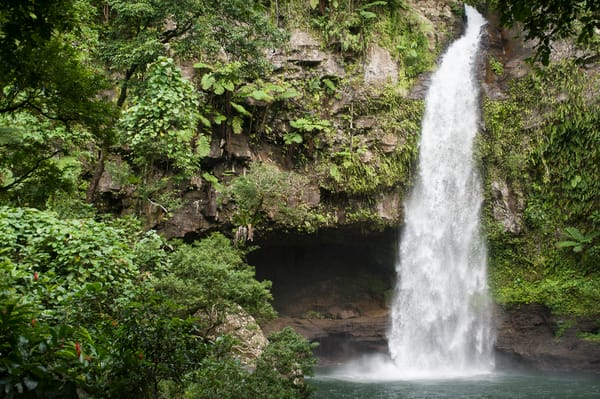 Tavaro Waterfall, Taveuni, Fiji