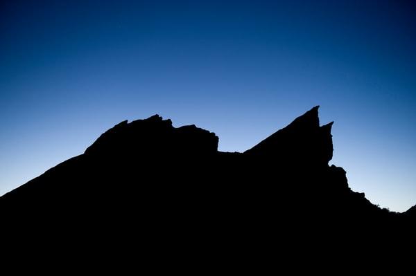 Vasquez Rocks Silhouette, Agua Dulce, California