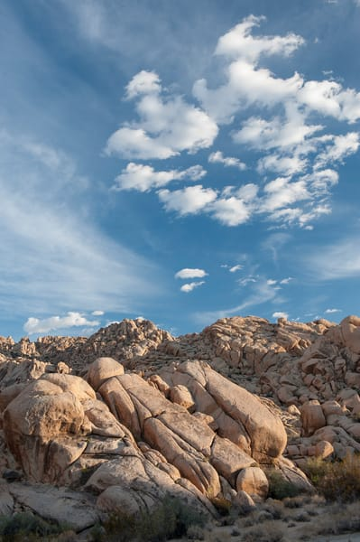 Indian Cove Rock Formations, Joshua Tree, California
