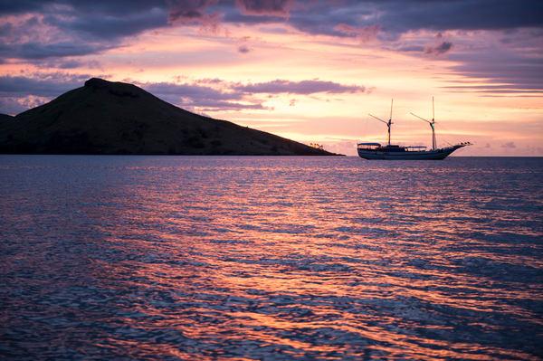Sailboat Sunset, Rakiraki, Viti Levu, Fiji