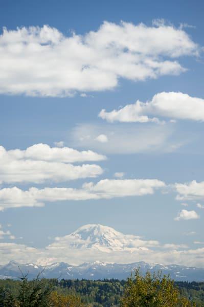 Mount Rainier in Winter, Seattle, Washington
