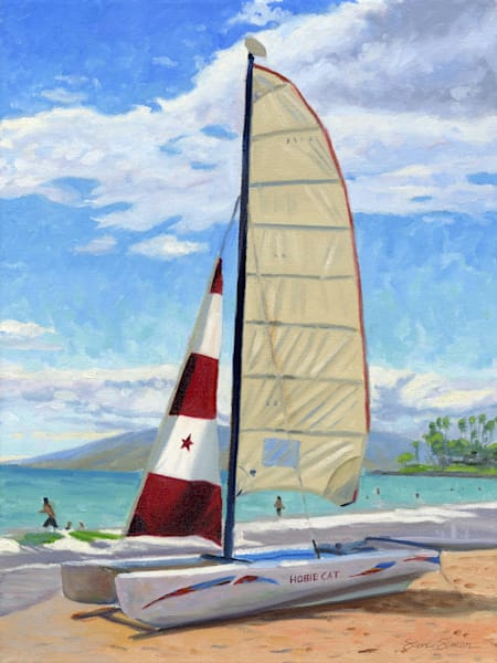 Hobie Cat on Wailea Beach