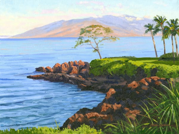 Wailea Point with West Maui in the Distance