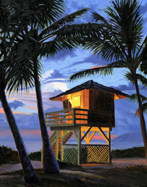 Kamaole Beach Lifeguard Tower