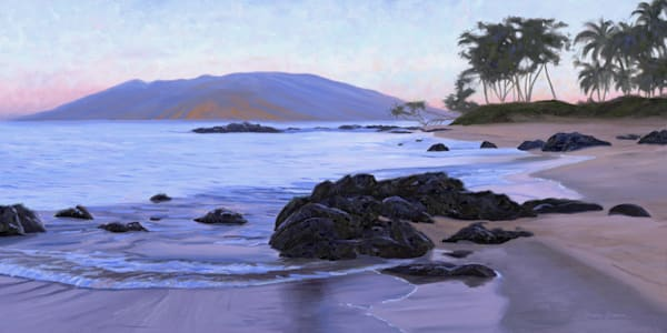 Sunrise on Mokapu Beach in Wailea