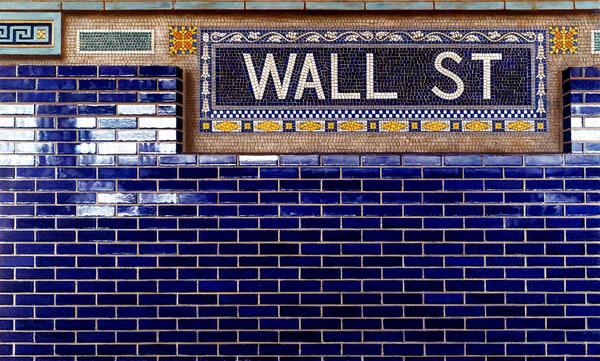 Blue Wall Street Wall