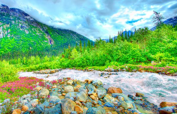 Alaska River Photography Art | Zakem Art LLC