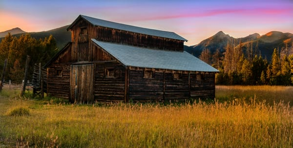 Colorado barn art prints/The little buckaroo homestead is now available as poster sized fine art prints in several print media options