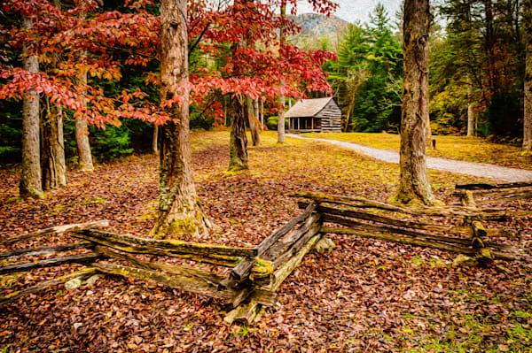 Smokies Cabin Fine Art Photograph | JustBob Images